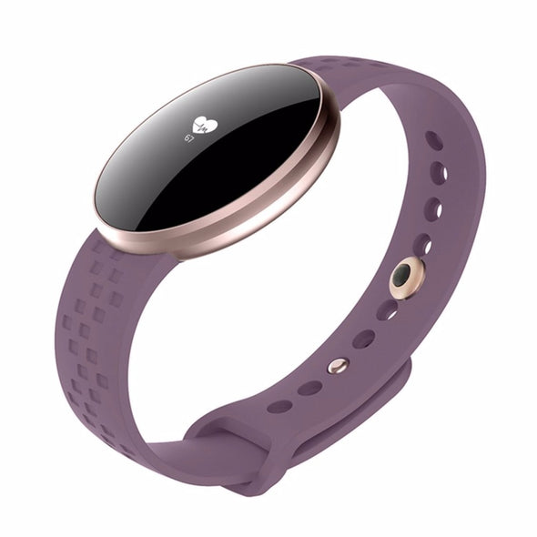 Women Heart Rate Monitor Remote Bluetooth Health Sleep Bracelet