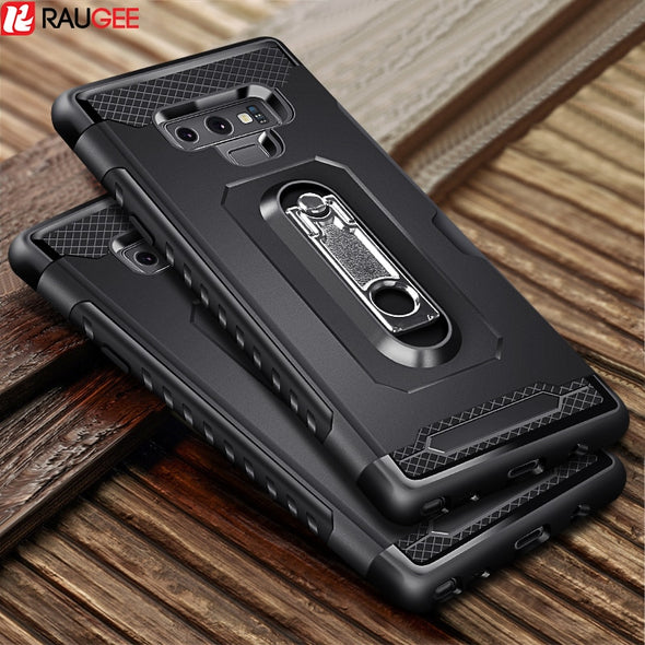 Samsung Galaxy Note 9 Case Card Wallet Slot Shockproof Stand Hold Cover