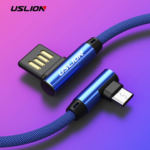 Type-C Type 90 Degree Fast Charging Data Cable