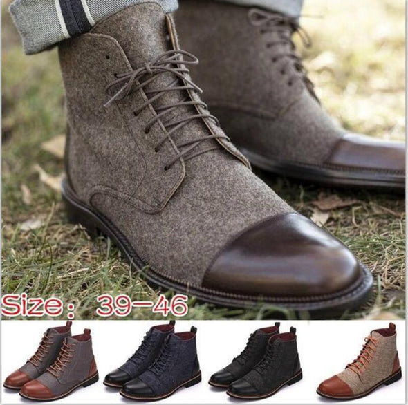 Fashion Casual Business Ankle Boots