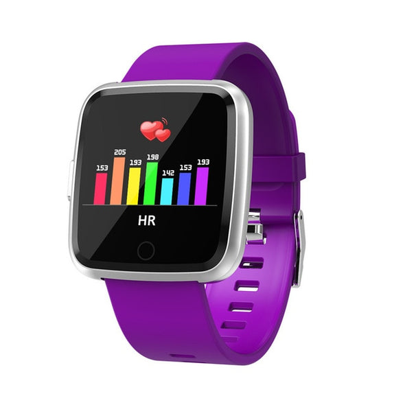 Heart Rate Blood Pressure oxygen Monitor  IP67 Waterproof Smart watch