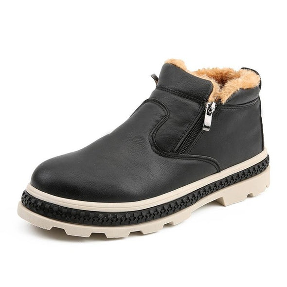 New Arrivals Fashion Leather Men's Comfortable Boots