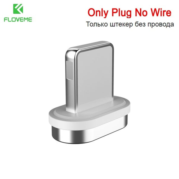 3A Magnetic USB Cable For iPhone Micro USB Type C