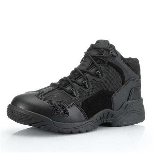 Men's Winter Breathable Combat Ankle Boots
