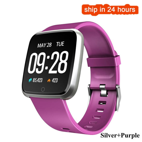 Waterproof Heart Rate Monitor Blood Pressure Oxygen Sport Tracker smartwatch