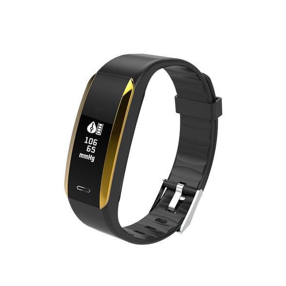 Blood Pressure Heart Rate Monitor  Smart Fitness Tracker