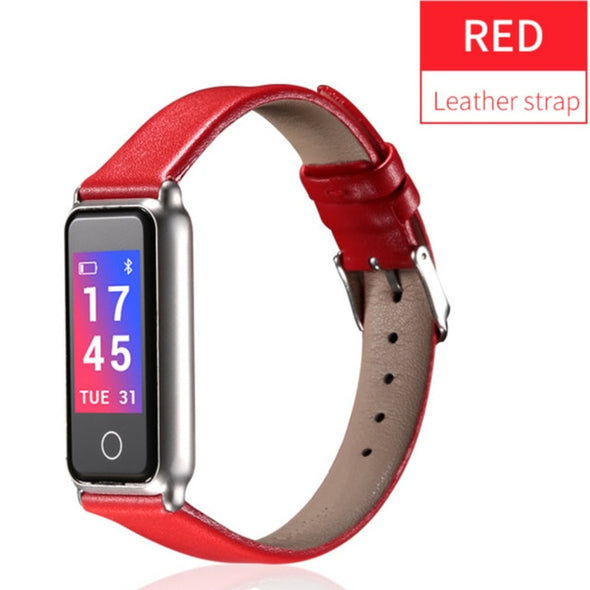 Heart Rate Blood Pressure Monitor Fitness Tracker Smart Bracelet