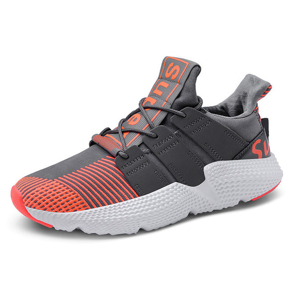 Stripe Wear-resistant Men Outdoor Training Fitness  Shoes