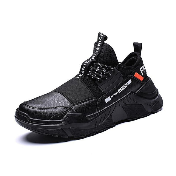 Black White High Quality Men Sneakers