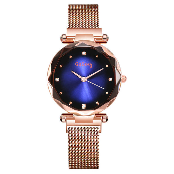 Luxury New Crystal Women Elegant Quartz Wristwatch