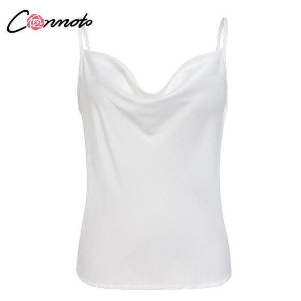 Women Solid Camis Top Spaghetti Strap Summer Camis Shirts