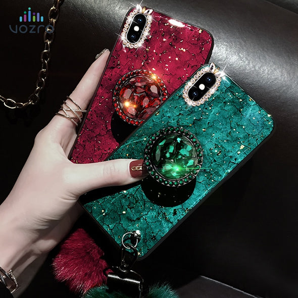 Rhinestone Case Phone case For iPhone