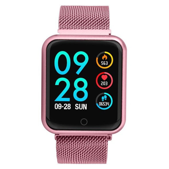 Blood Pressure Heart Rate Monitor Sport Activity Tracker Smart Watch