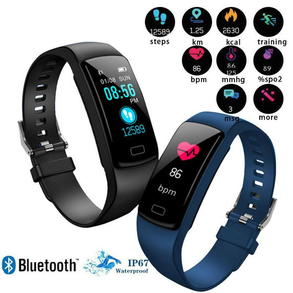 Sport Bluetooth Wristband Activity Fitness Tracker Watch