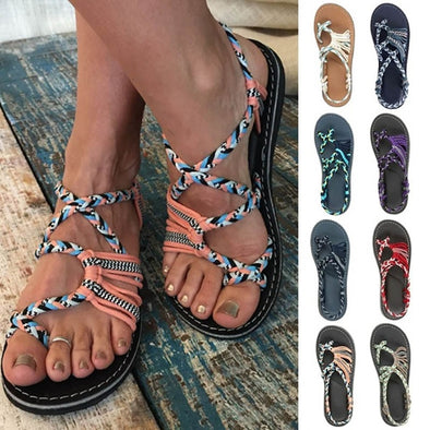 Women Summer Fashion Flat Sandals