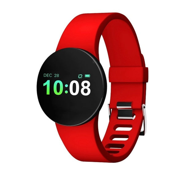 Waterproof Heart Rate Blood Pressure Oxyen Monitor Call Reminder Smart watch