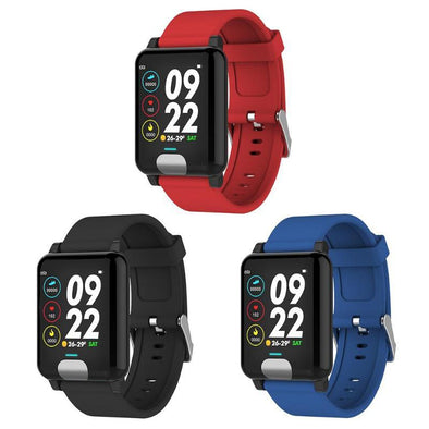 ECG/PPG Blood Pressure Heart Rate Monitor Waterproof Smart Watches