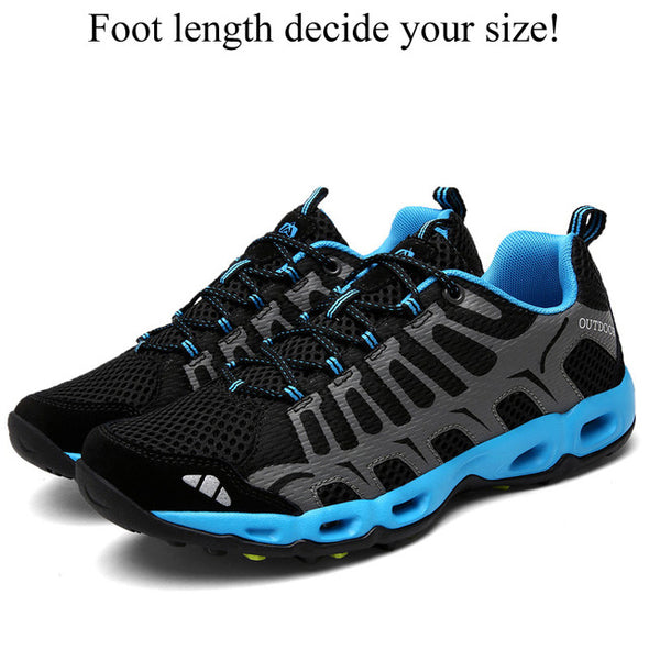 Men Breathable Climbing Sport Trekking Shoes
