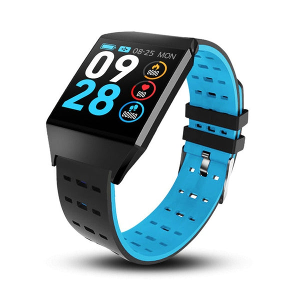 Smart Watch Waterproof Pedometer Heart Rate Monitor