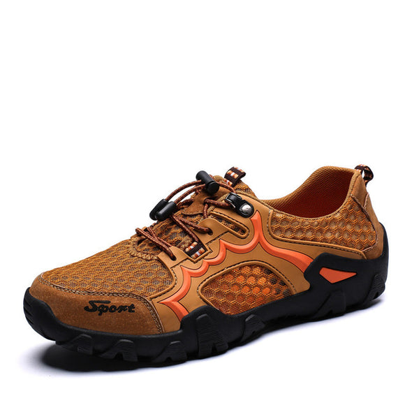 Big Size Men's Summer Breathable mesh Outdoor Sneakers
