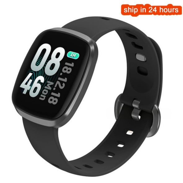 Waterproof Heart Rate Blood Pressure Fitness Tracker Sleep Monitor Smart Bracelet