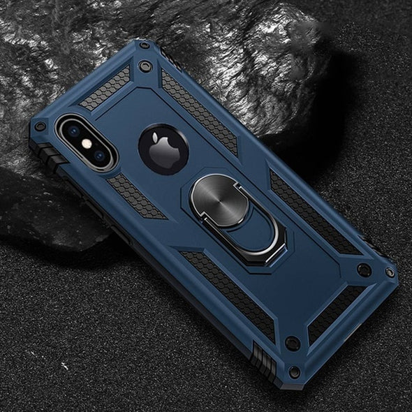 Luxury Armor Soft Shockproof Case On The For IPhone XR XS Max X