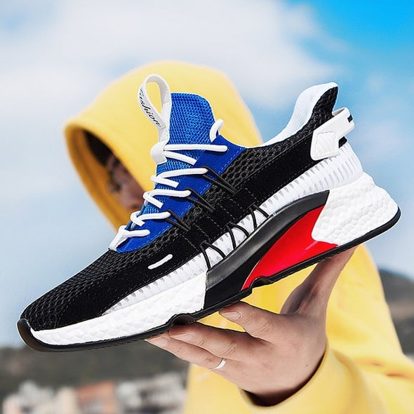 2019 New Summer Breathable Mesh Men Running Shoes