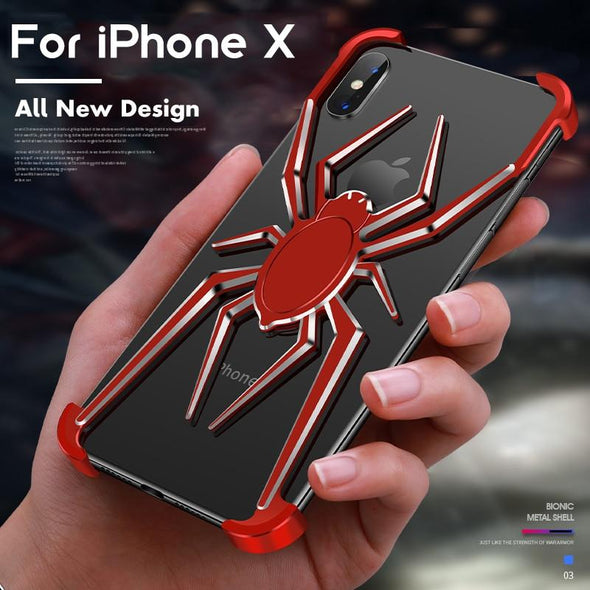 Armor Heavy Dust Protective For Aluminium Metal Bumper For iPhone