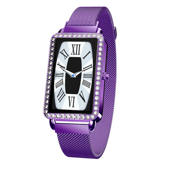 Fashion Girl's Smart Watch with Heart Rate Monitor Multi-function Sports Watch