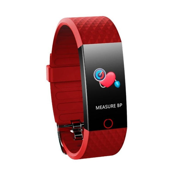 Sports Step Counter Blood Pressure Heart Rate Monitoring Color Screen Smart Wristband