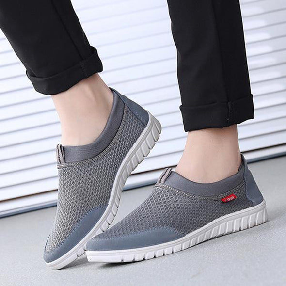 New Summer Breathable Mesh Men's Shoes