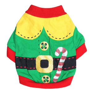 Very Cute Santa's Little Helper Elf Costume