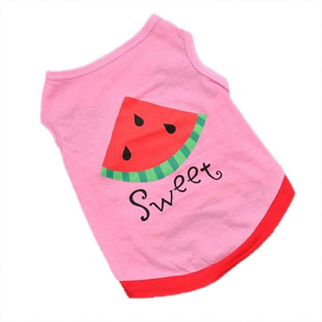 Sweet Watermelon Print T Shirt