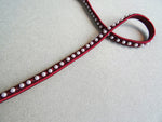 Burgundy viscose Pearl Trim