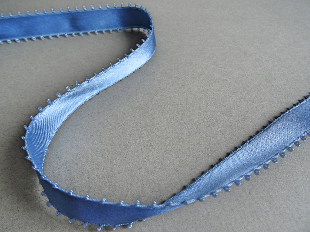 Picot Ribbon 15mm Sky Blue