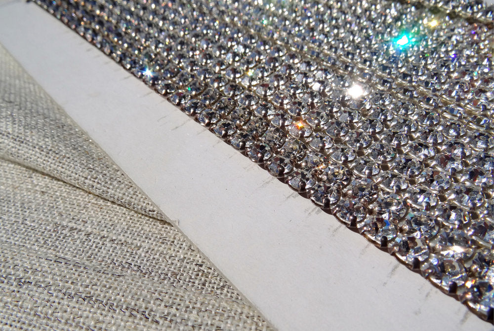 Swarovski Diamante Crystal Trim