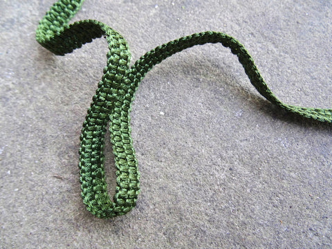 Forest green Upholstery braid