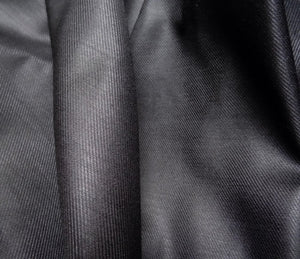 (NOT CURRENTLY AVAILABLE) Black Matt Viscose Lining