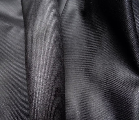 Black Matt Viscose Lining