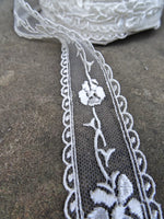 Fine Lace Ivory Trim (AVAILABLE TO ORDER)