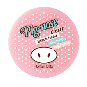Holika Holika - Pig Nose Clear Blackhead Cleansing Sugar Scrub 25g