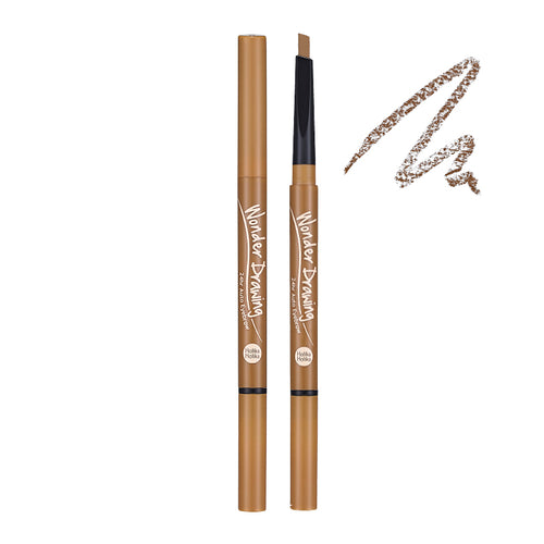 Holika Holika - Wonder Drawing 24hr Auto Eyebrow Light Brown