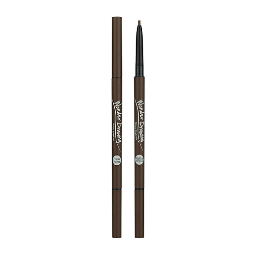 Holika Holika - Wonder Drawing Skinny Eyebrow 02 Dark Brown