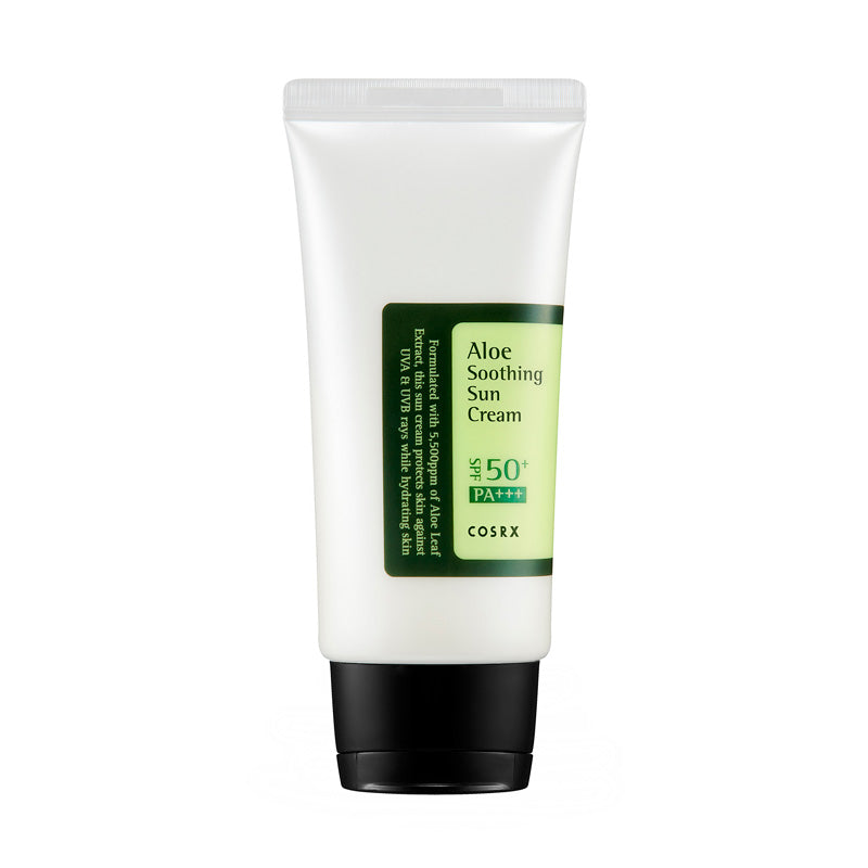 Cosrx Aloe Soothing Sun Cream SPF50+ PA+++ er en solcreme indenfor k-beauty