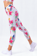 Bloomerang Blanc High Waisted 7/8 Leggings