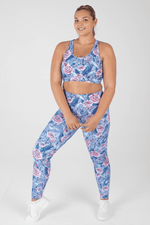 Arctic Crush High Waisted Full Length Leggings