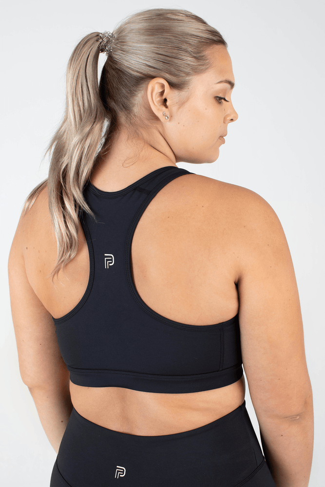 The Ultimate Black Sports Bra