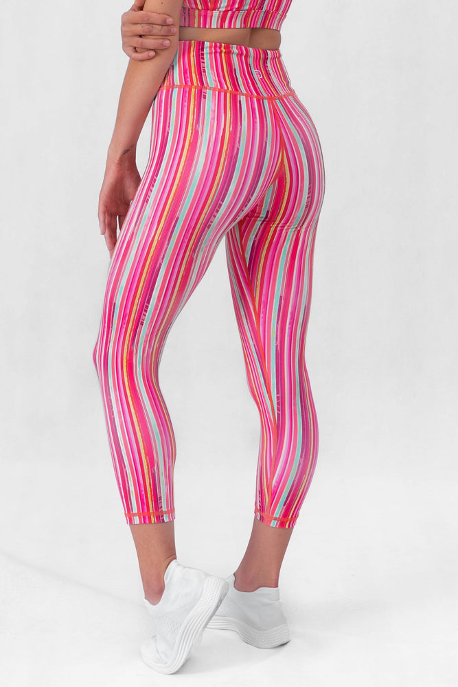 Candy Pink High Waisted 7/8 Leggings