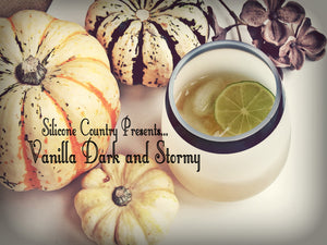 How To Make:  Vanilla Dark and Stormy