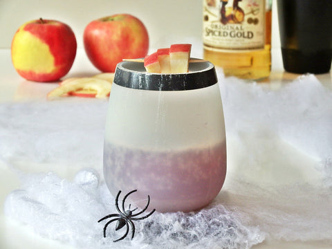 Poisoned Apple Recipe with Spiced Rum